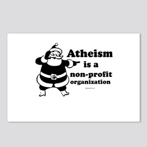 Atheism is non-profit ~  Postcards (Package of 8)